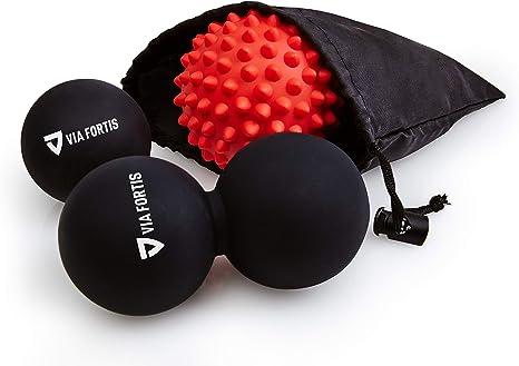 Bola de Masaje Miofascial y Muscular (Juego de 3) de VIA FORTIS ...