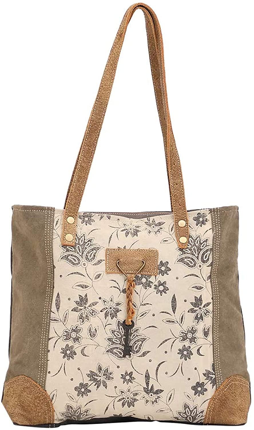 Amazon Com Myra Bag Unique Key Upcycled Canvas Cowhide Tote Bag S 1522 Brown Shoes Последние твиты от myra bag (@myra_bag). myra bag unique key upcycled canvas cowhide tote bag s 1522 brown
