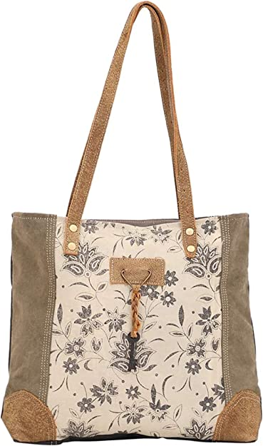 Amazon Com Myra Bag Unique Key Upcycled Canvas Cowhide Tote Bag S 1522 Brown Shoes Every month, new virtual phone numbers are provided to enable you receive sms from any part of the world. myra bag unique key upcycled canvas cowhide tote bag s 1522 brown