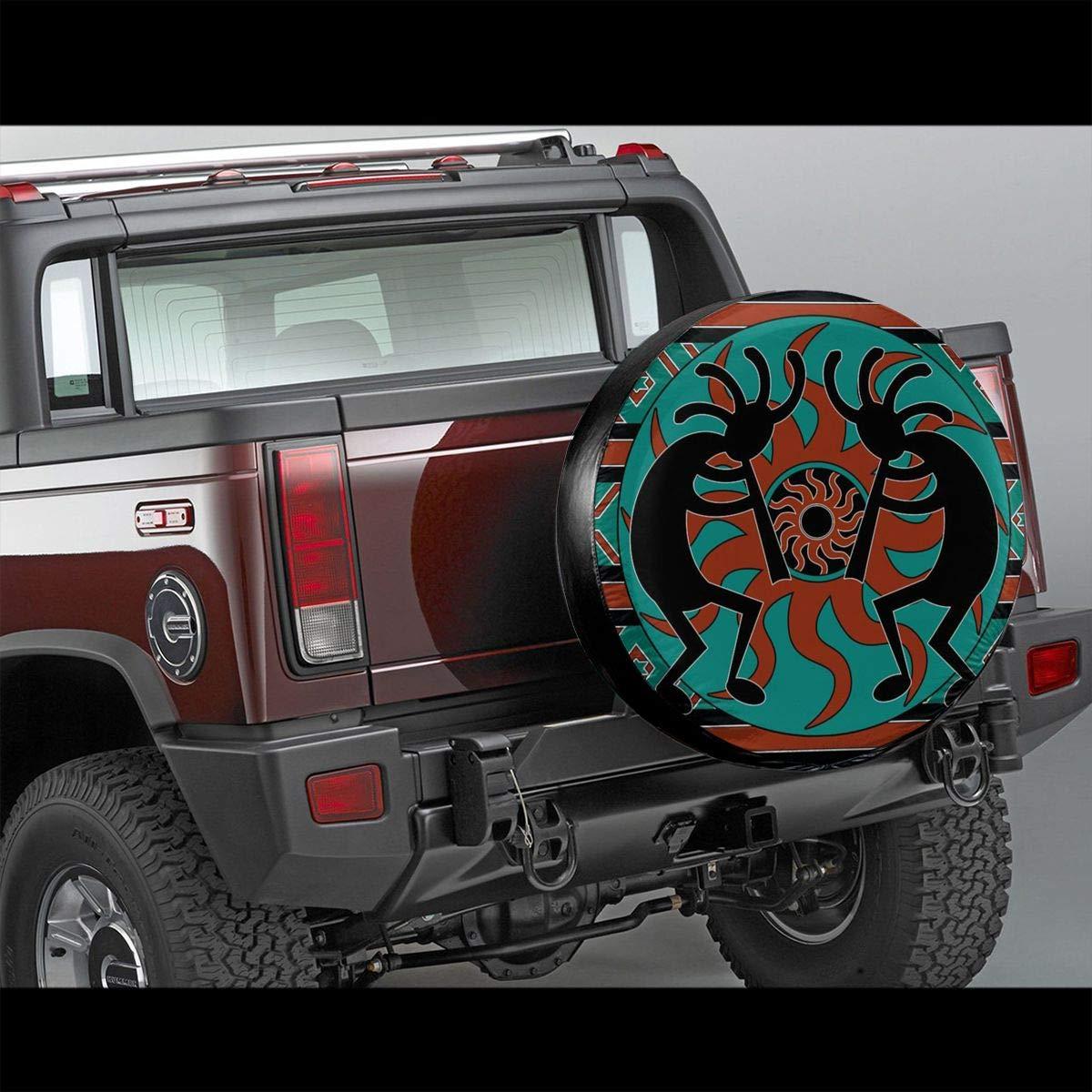 Indianer I-n-d-i-a-n S/üdwesten Reserveradabdeckung Reifenschutz Passt Reifendurchmesser 17 Zoll