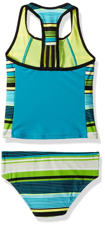 ZeroXposur Big Girls Two Piece Tankini Swimsuit Set
