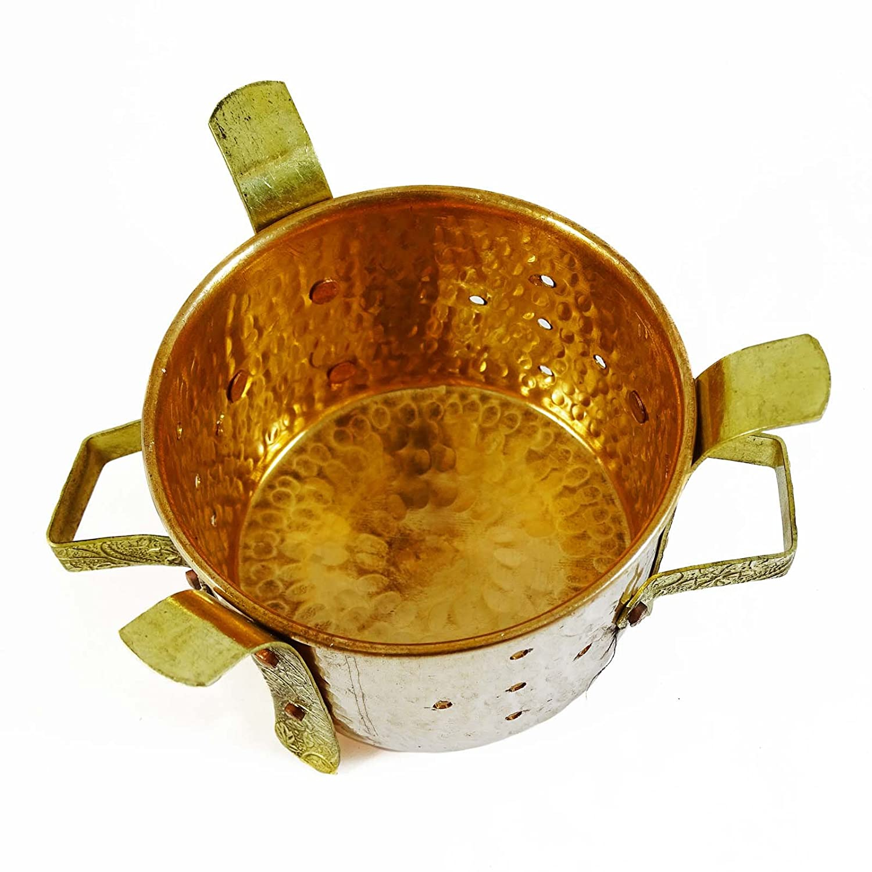 Indian Sigdi Königlichen Traditionelle Kupfer Messing Kostwärmer ...