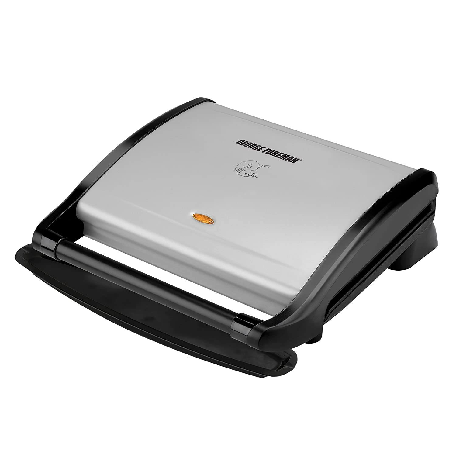 George Foreman GRV80 Contemporary Grill with Extended Handle