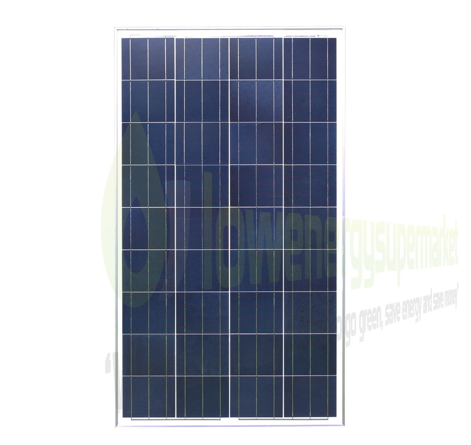 Lowenergie 150W Poly-Crystalline Solar Panel Premium Quality PV Photo-voltaic Panel. For Caravans, Motorhomes, Boats & Any Flat Surface