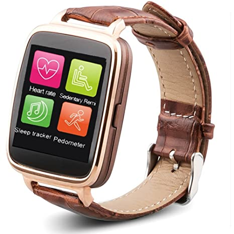 OUKITEL A28 Reloj Inteligente IP53 Bluetooth 4.0 para iPhone 5S 6 6 Plus iOS Samsung S6 ...