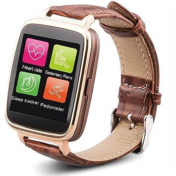 OUKITEL A28 Reloj Inteligente IP53 Bluetooth 4.0 para iPhone 5S 6 6 Plus iOS Samsung S6 S6 edge HTC Andriod Smartphone 1,54