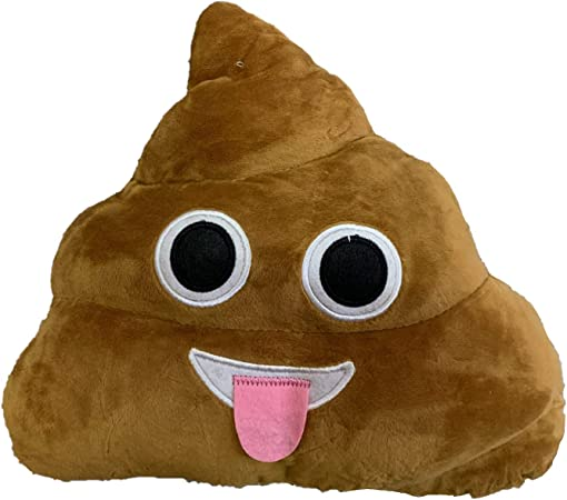 Pile of Poo Ducomi/® Coussins Emoji Smiley