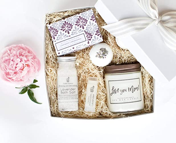 Mother S Day Luxury Spa Day Gift For Women Relaxing Lavender Essential Oil Spa Day Self Care Kit