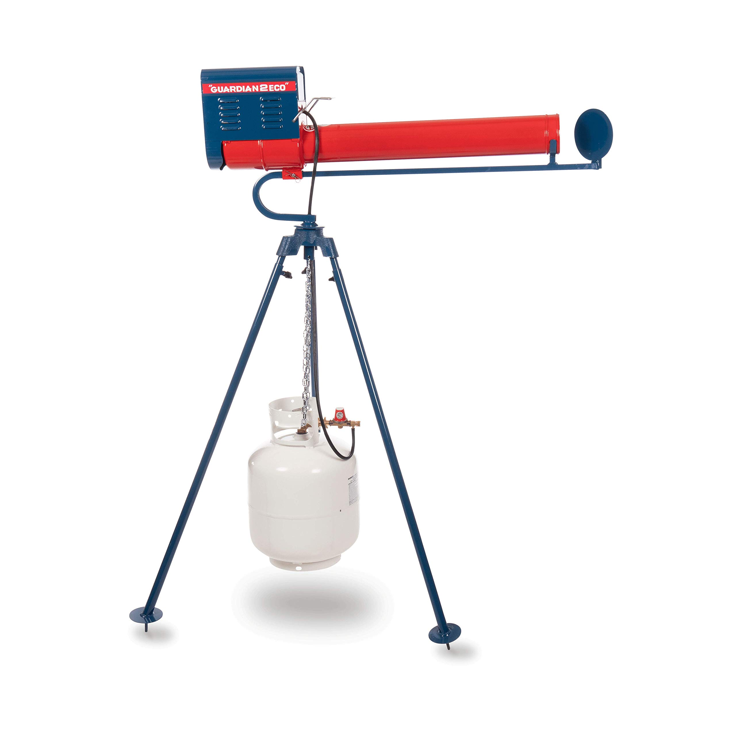 Good Life, Inc. Guardian G2 Single Rotary Propane Scare Cannon with 5-ft. Tripod - Perfect for Industrial & Agricultural Applications by Good Life, Inc.