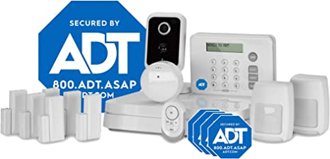Adt Home Security Systems >> Adt Diy Lifeshield 15 Piece Easy Smart Home Security System Optional 24 7 Monitoring Smart Camera No Contract Wi Fi Enabled Alexa