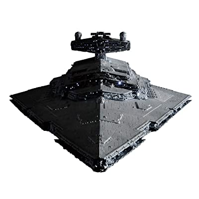 Bandai Spirits Hobby Star Wars 1/5000 Star Destroyer (Lighting Model) Limited Ver. Star Wars, Grey, Model:-: Toys & Games