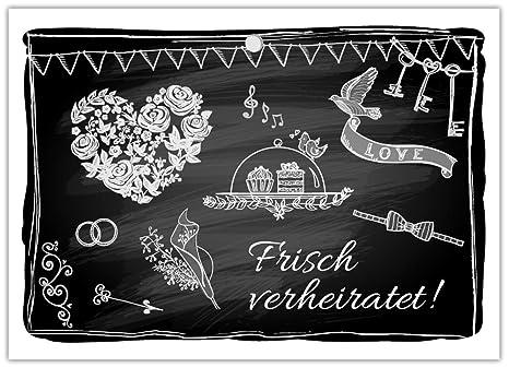 100 gelochte Ballonflugkarten Hochzeit für Wünsche an Brautpaar liebevolle extra leichte Ballonkarten für weiten Flug schwarz