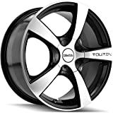 "Touren TR9 3190 Black Wheel with Machined Face (16x7""/10x100mm)"