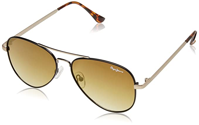 55e3552d1ff Image Unavailable. Image not available for. Colour  Pepe Jeans UV Protected Aviator  Unisex Sunglasses ...