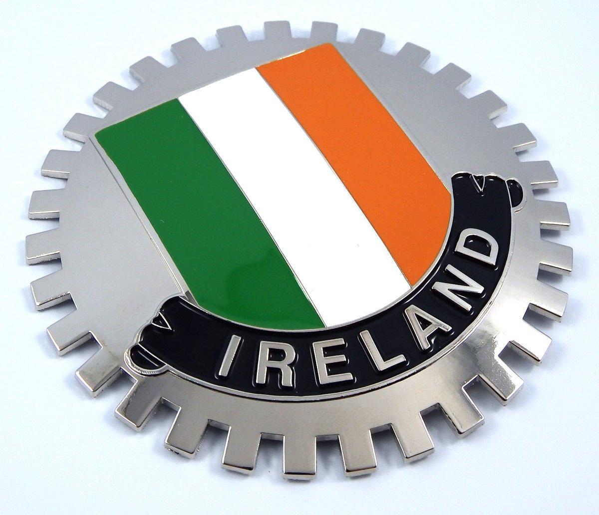 Aplique Parrilla Irlanda Bandera irlandesa