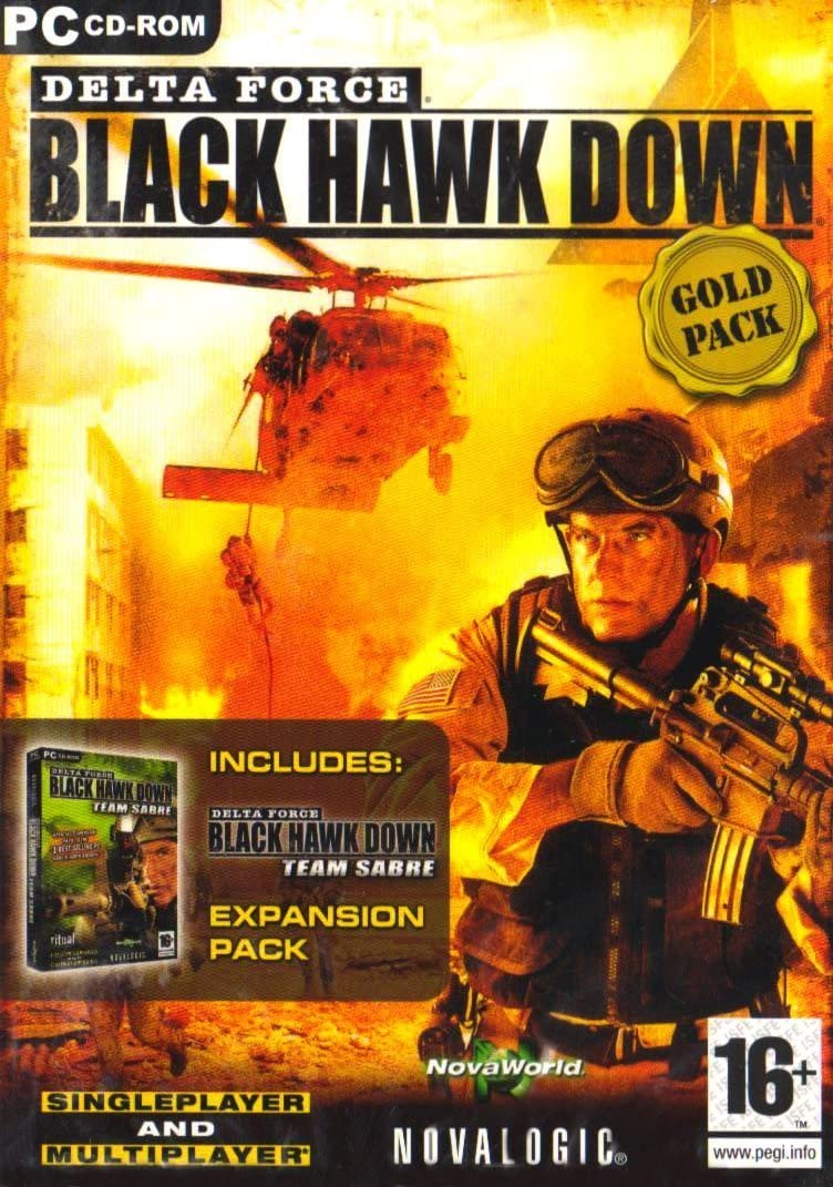 Delta Force: Black Hawk Down and Team Sabre - Gold Pack (PC ...