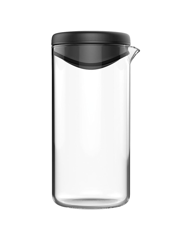 Fiskars Shaker per Condimenti Vetro Nero 7 x 7.8 x 14.48 cm 1014347