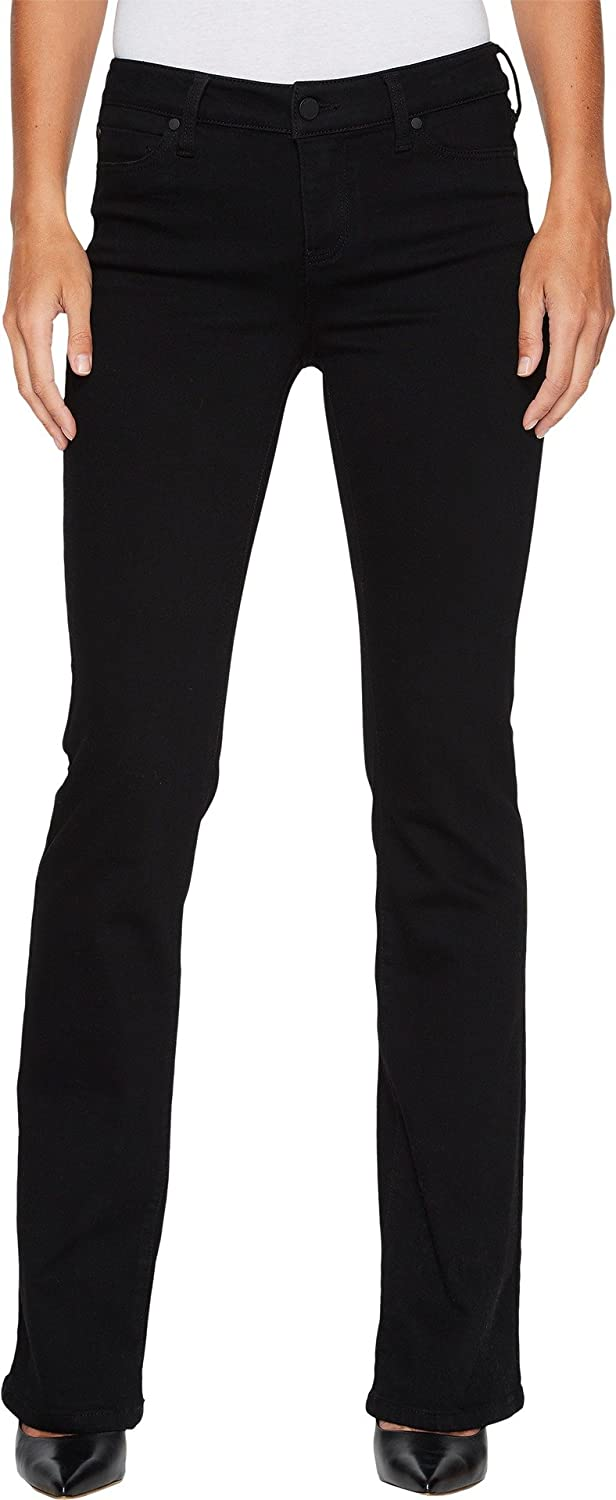 738bbb118744b Liverpool Jeans Company Women's Lucy Bootcut Jean in The Perfect Black Denim  at Amazon Women's Jeans store