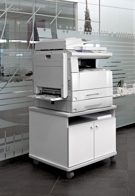 Mesa fotocopiadora e Impresora ber-copian60 Blanco Roto de 56h ...
