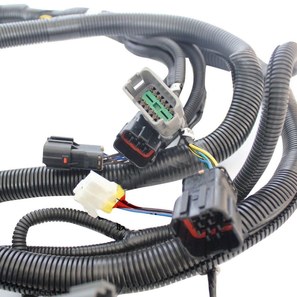 71XLSbtFxDL._SL1024_ amazon com sinocmp 6d102 excavator external wiring harness for Largest Komatsu Excavator at couponss.co