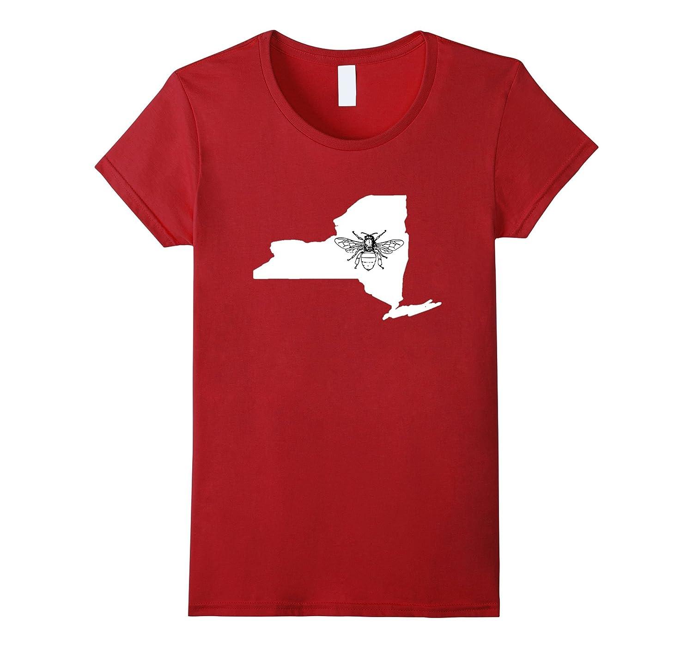 New York Bee Lover Shirt, Beekeeper T Shirt, Beekeeping