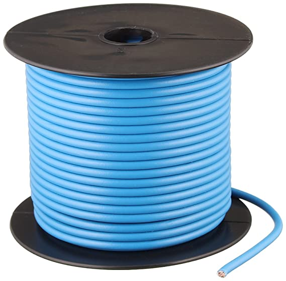 Coleman Cable 14-100-15 100-Feet 14-Gauge Primary Wire Bulk Spool ...