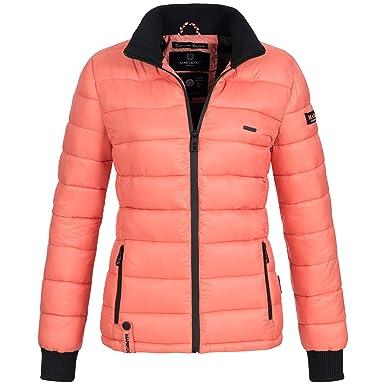 Marikoo Damen Jacke Steppjacke Parka Übergang Winter Daunen Look Fiona XS-XXL  10-Farben  Amazon.de  Bekleidung 04c8113137
