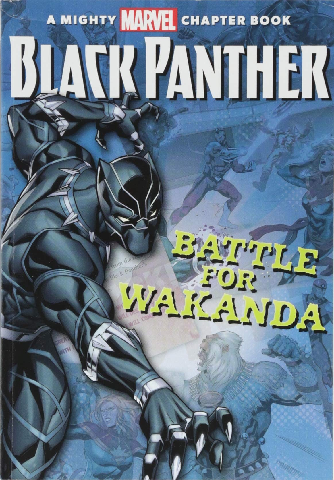 Black Panther  The Battle For Wakanda  A Mighty Marvel Chapter Book