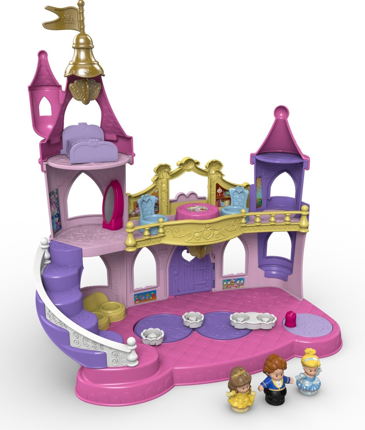 Fisher-Price Little People Disney Princess, Musical Dancing Palace by Fisher-Price (Image #6)
