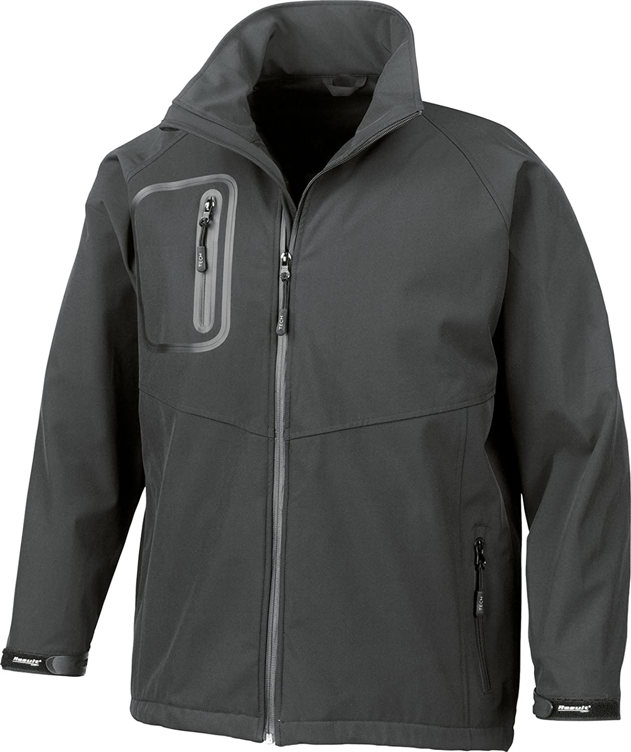 Result Tech Performance Ultra Lite Softshell Top Waterproof Jacket Black XS-2XL