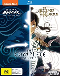 Amazon com: Legend of Korra: The Complete Series [Blu-ray