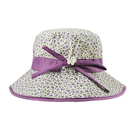 1d6c88397 Amazon.com : Women's Floppy Sun Hats Topee Anti-UV Sun Protection ...