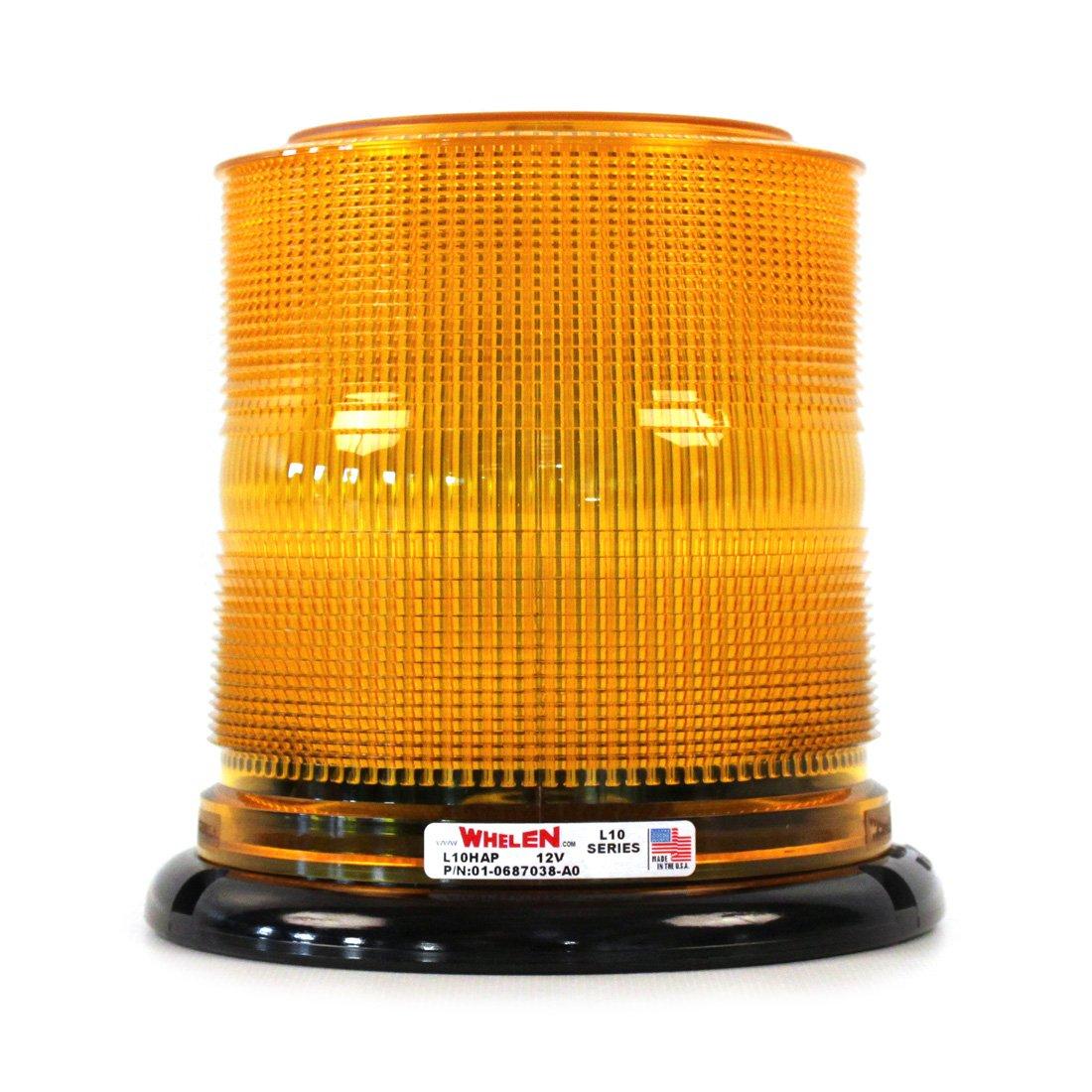 Amazon: Whelen L10 Series Economy Permanent Led Beacons  Amber:  Automotive