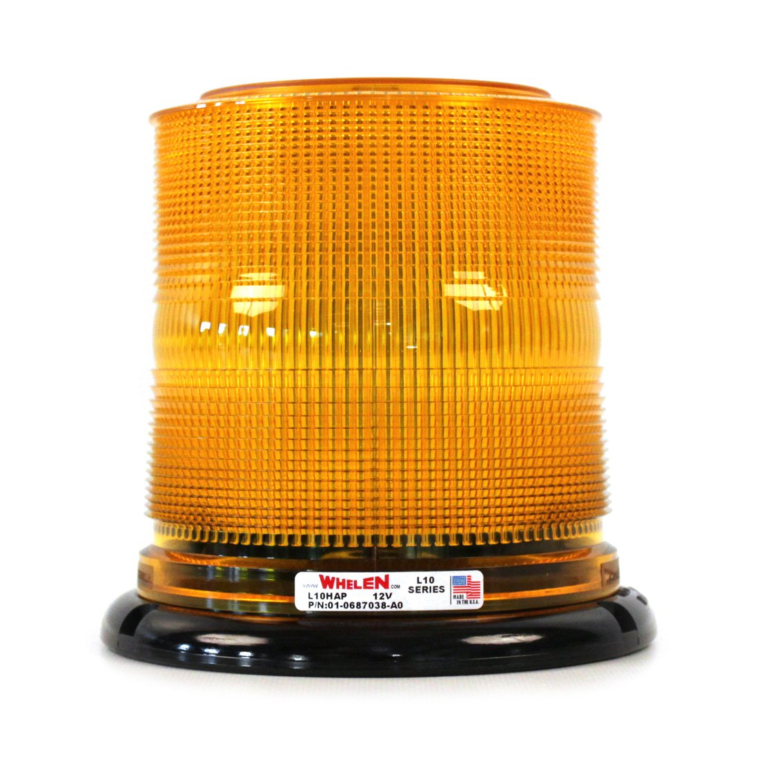 Whelen L10 Series Economy Permanent LED Beacons - Amber