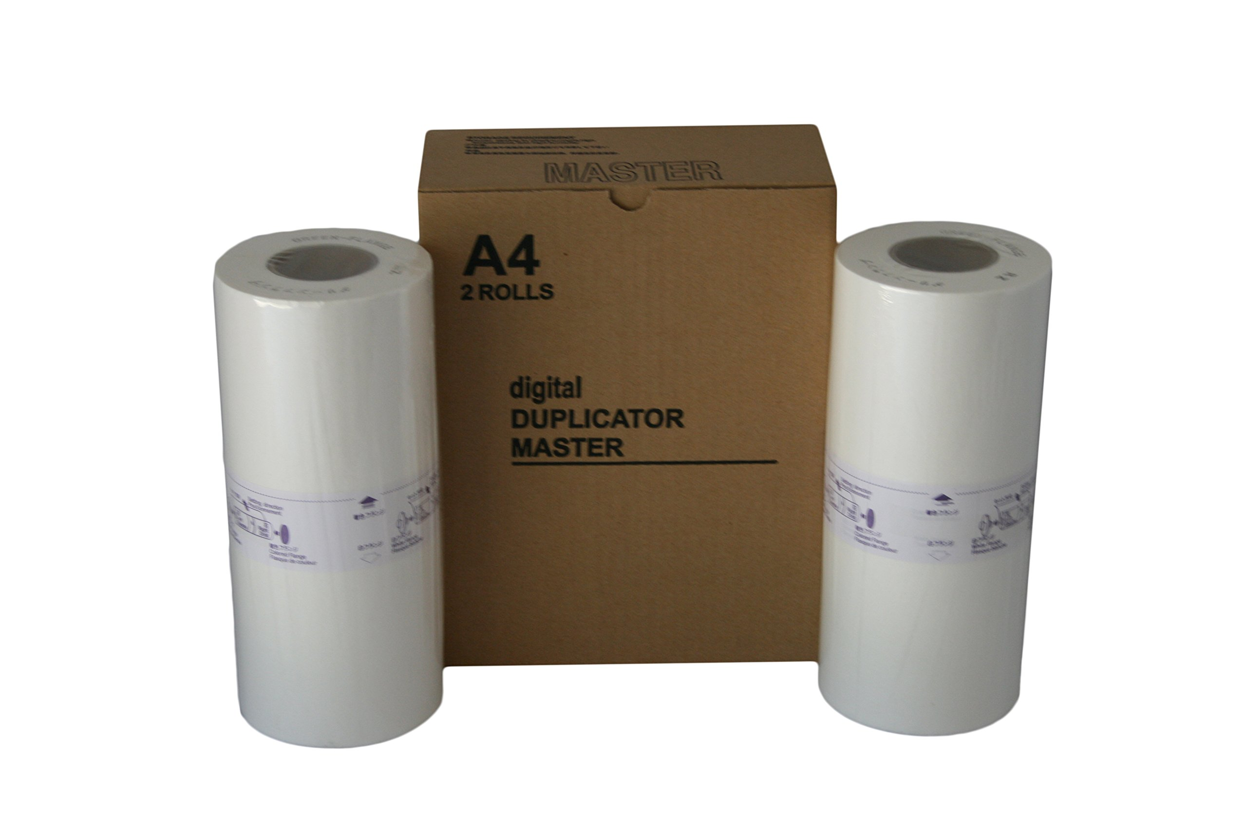 2 Wholesale Widgets S-4250 Master Rolls Compatible with Riso S4250 A4 for Use in Risograph EZ220, RZ220, RZ230, and RZ310 Duplicators RISS4250C