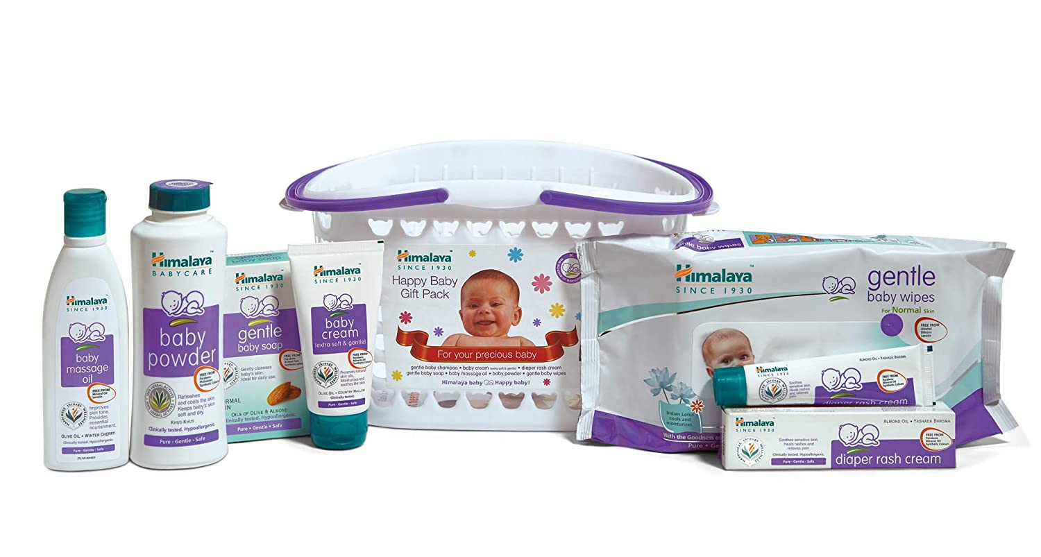 Himalaya Herbals Babycare Gift Series Basket Set For Babies Cussons Baby Cream Mild And Gentle 100 Gr Newborn Health Personal Care