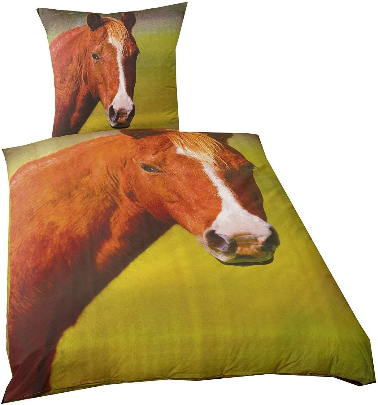 Ropa de Cama Liso Caballo Pony 135 X 200cm Regalo Nuevo Wow - All-In-One-Outlet-24 - -