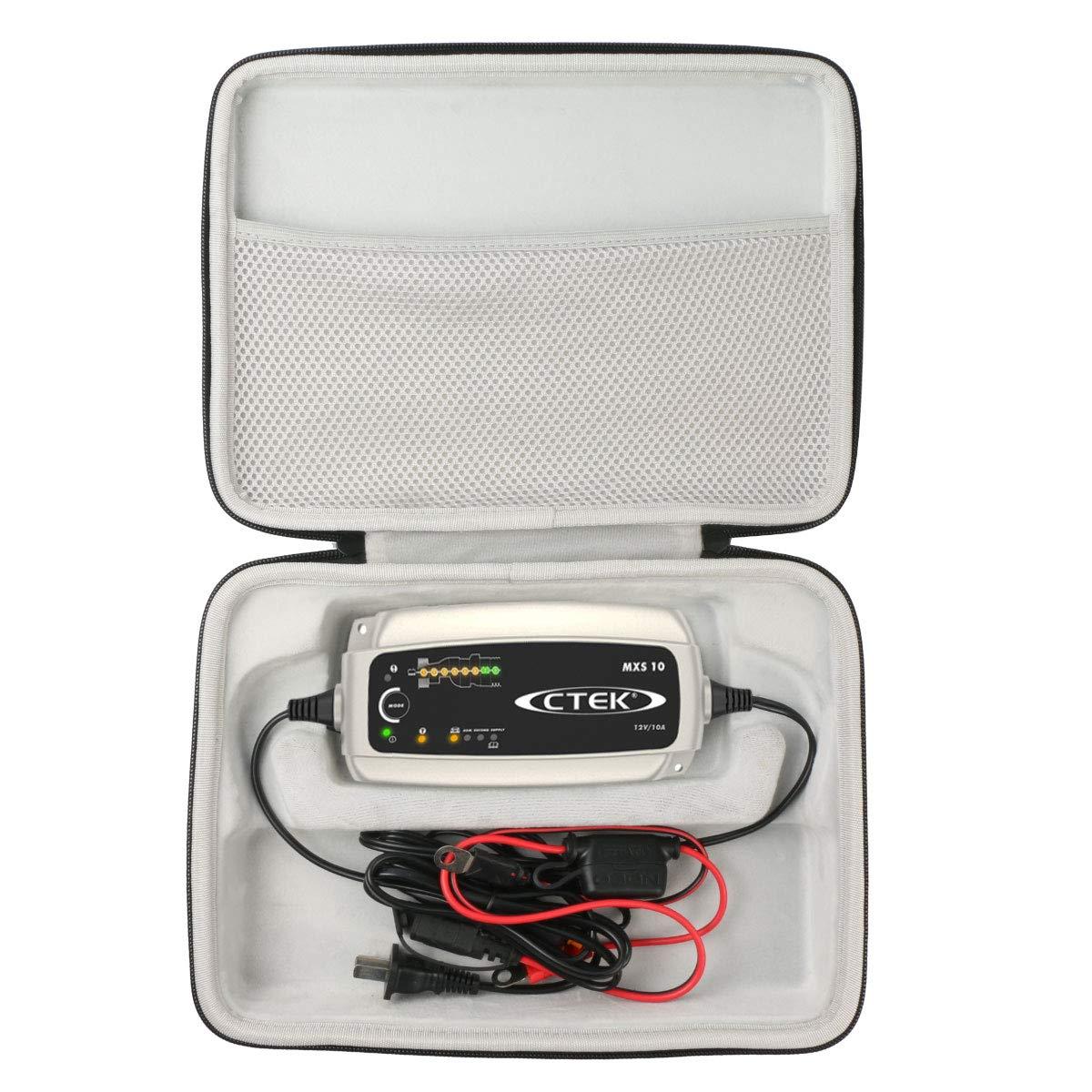 Khanka Eva Custodia Viaggi Borsa portaoggetti per CTEK XS 0.8 Mantenitore di Carica Automatico for XS 0.8