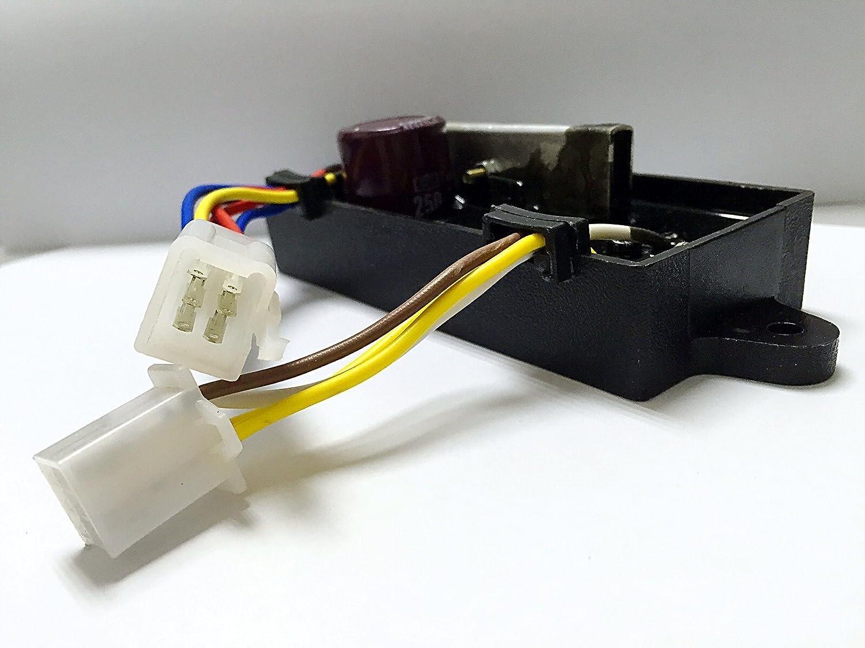 ITACO 4 kW a 5 kW (2) 4.0 kW 5000 kW AVR Generador de 186 F Diesel soldador soldadura gen-welder 10 Cable 250 V 470uF: Amazon.es: Coche y moto