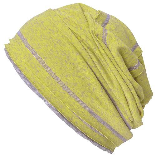 Casualbox Mujer Hombres Desgarbado Gorros Beanie Sombrero Holgado Vistoso Ligero Verano Invierno
