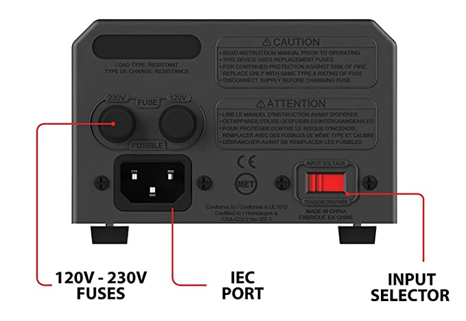 Amazon.com: KRIËGER 850 Watt Voltage Transformer 120V to from 230V AC outlet American European Step Up/Down Voltage Converter Transformer: Automotive