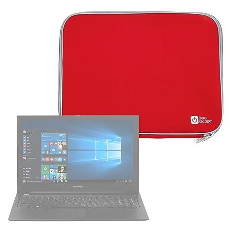 DURAGADGET Funda De Neopreno Roja para Portátil HP Omen 15 ce032ng: Amazon.es: Electrónica