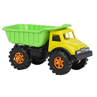 "American Plastic Toys 16"" Dump Truck Vehicle: Toys & Games"