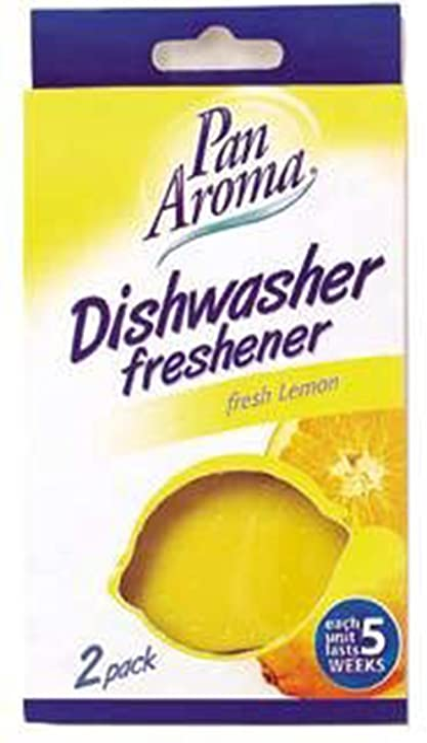 Pan Aroma Geschirrspüler Lufterfrischer Zitrone 2 Stück Küche Haushalt
