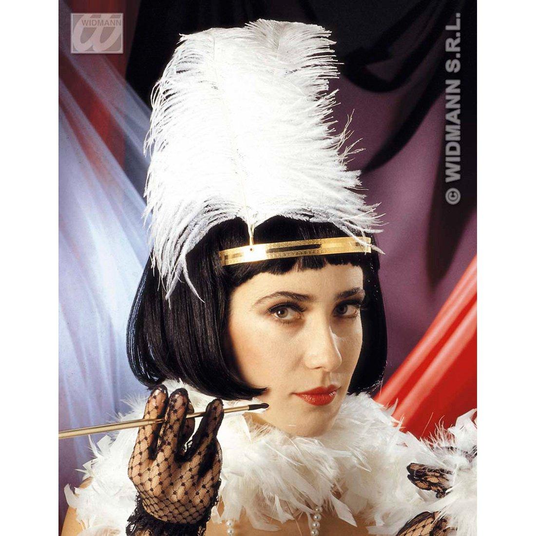 Elegante negro peluca de Charleston para mujer 20er 30er peluca de pelo negro Charleston años de moda de la peluca: Amazon.es: Juguetes y juegos