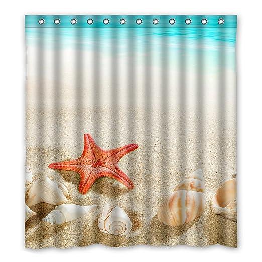 Dalliy coperture del Mar peces la estrella disfraz cortina de la ...