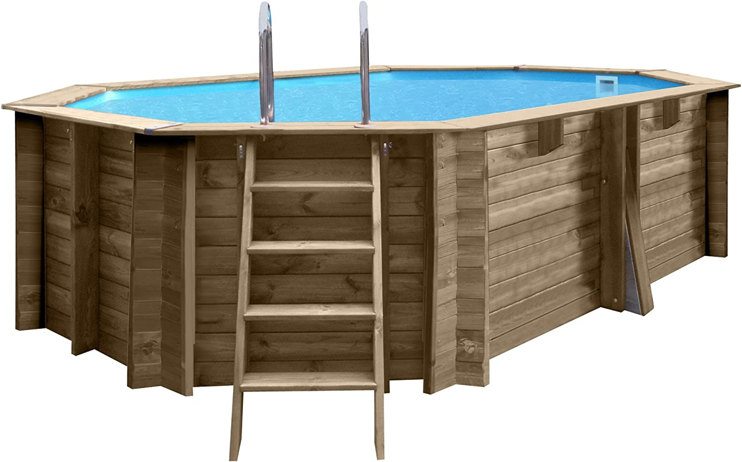 Gre 790086 - Piscina (Piscina con Anillo Hinchable, Hexagonal ...