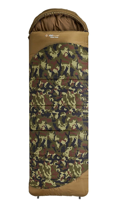 Saco de dormir Camuflaje Lawson Tactix SBA-LTH-C 80x230cm 1.6kg Temperatura límite -5 °C OZtrail