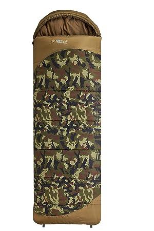 Saco de dormir Camuflaje Lawson Tactix SBA-LTH-C 80x230cm 1.6kg Temperatura límite -5 °C: Amazon.es: Deportes y aire libre