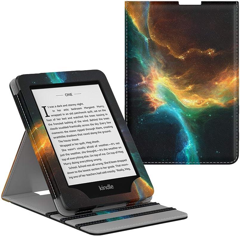 MoKoケース Kindle Paperwhite(第10世代 2018年発売)プレミアム垂直フリップカバー自動ウェイク/スリープ機能付き2018タブレット対応